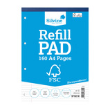 Silvine Rfsc Refill Pads A4 Pk5