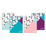 Silvine Geo Pop Notebooks