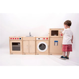 4 Piece Wooden Kitchen Set