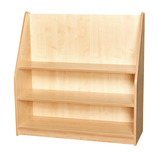 1M High Bookcase Mag Trays Lblue