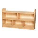 2 Tier Extra Wide Shelving with Back