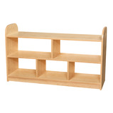 2 Tier Extra Wide Shelving without Back