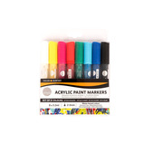 SIMPLY ACRYLIC PAINT MARKERS - BLACK AND WHITE