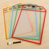 Clear Write&Wipe Wk Storage Pockets