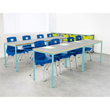 Welded Colour Frame Tables 1200mm(w) x 600mm(d)