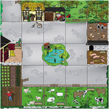 Bee-Bot® Farmyard Mat
