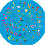 Active World Alphabet Sorting Mat