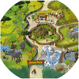 Active World Safari Park Mat