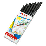 Edding Colourpen Fine Pk12, Black