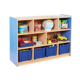 Copenhagen Eight Compartment Bookcase