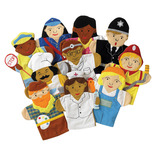 Career Hand Puppets