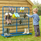 Double Sided Wellie Rack