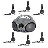 Listening Centre with Consortium Robust Headphones
