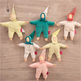 Eco Rubber Small World Elf Dolls