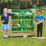 Outdoor Wooden Loose Parts Trolley