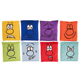 Emotion Faces Bean Bags
