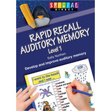 Rapid Recall Auditory Memory Book