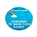 Hand Hygiene Wall Sticker 5PK