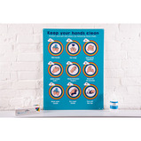 Outdoor Handwashing Display Board
