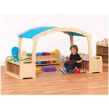 Tall Den Cave Set+Taupe Roof