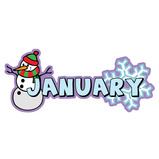 Month Of The Year Set Of 12 Signs