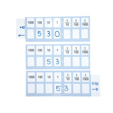 Wipe Clean Place Value Slider