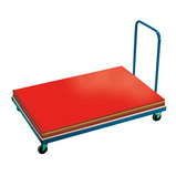 Horizontal Gym Mat Trolley