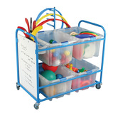 PE Storage Trolley and Whiteboard