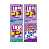 Scholastic 100 History Lessons Set