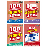 SCHOLASTIC 100 GEOGRAPHY LESSONS BIG DEAL