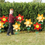 OUTDOOR RECORD TALKING FLOWERS 10PK