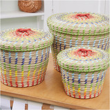 Colourful Nesting Baskets