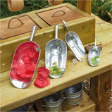 ASSORTED METAL MESSY PLAY SCOOPS 4PK