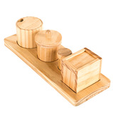 WOODEN DISCOVERY BOXES WITH LIDS