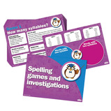 SPELLING ACTIVITY CARDS GROUP SET