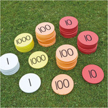 Outdoor Place Value Foam Counters
