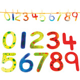 Squidgy Sparkles Numbers Set 0-9