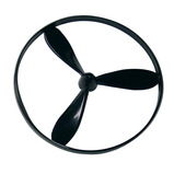 """3 BLADE PROPELLOR 5"""" PACK OF 10"""