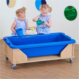 INDOOR SAND AND WATER TABLE H53CM BLUE TRAY