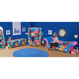 Giant Patchwork Furniture Range