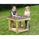 Wooden Collect and Sort Table