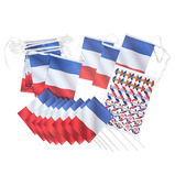 French Bunting, Flags and Stickers Set
