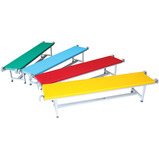 Continental Coloured Upholstered Benches Set