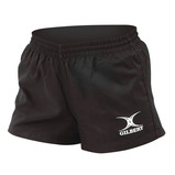 Gilbert Black Bok 7s Shorts