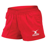 Gilbert Red Bok 7s Shorts
