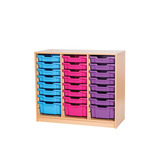 TRP 21 TRAY UNIT 754MM MAPLE/LIME