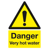 Very Hot Water Sign