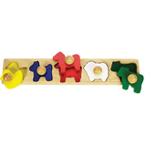 Animal Matching Board Puzzle