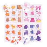 Colours and Shapes Puzzles