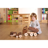 Natural Wooden Vehicle Set and Save 15%